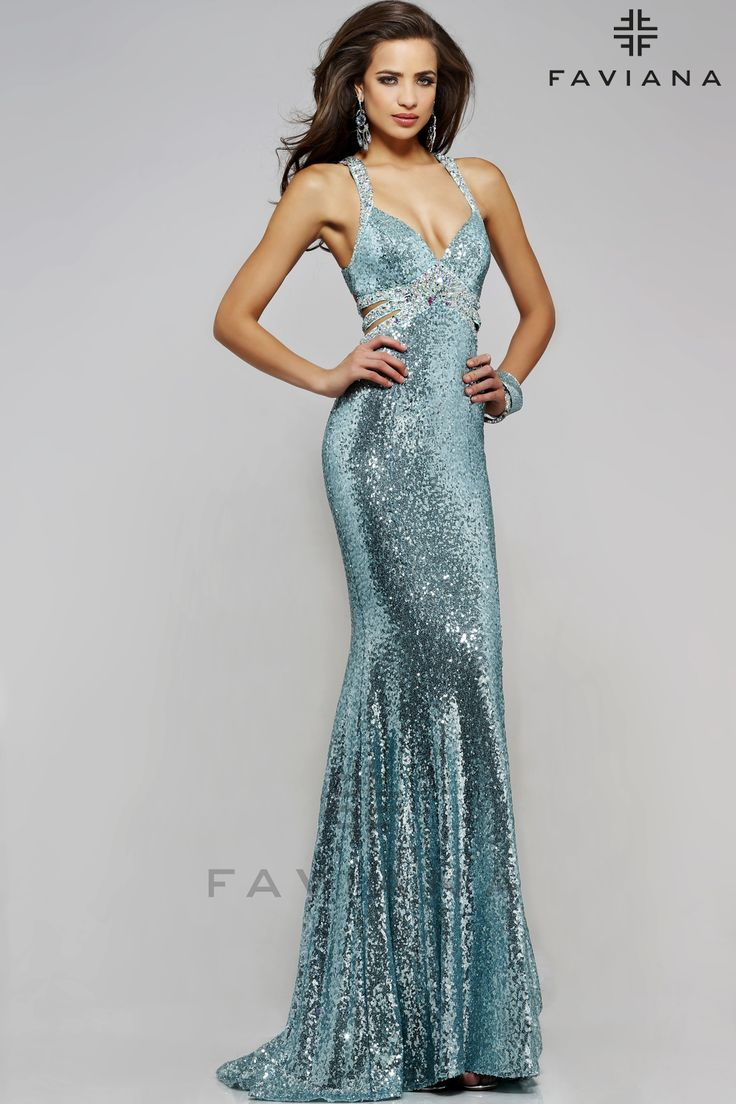59 best Sequin Evening Dresses images on Pinterest | Dress party ...