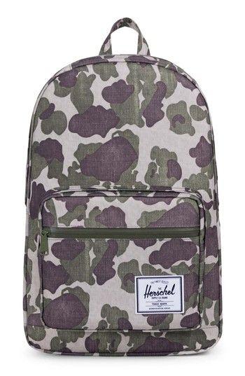 HERSCHEL SUPPLY CO. POP QUIZ BACKPACK - GREEN. #herschelsupplyco. #bags #backpacks #
