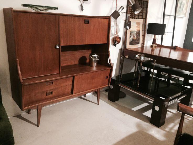 sideboard Danish style teakwood  selected by www.sandervaneyck.nl
