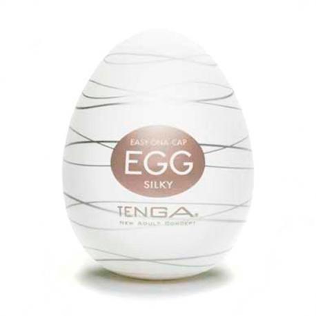 TENGA HUEVO MASTURBADOR MARRON  Fabricado con un elastómero de grado medico que no causa ninguna reacción alérgica, tolerado por el cuerpo, muy elástico y ajustable que se adapta a todos los tamaños de pene. El interior de cada huevo Tenga Egg tiene un sistema nuevo de estrías que proporcionan diferentes tipos de placer.