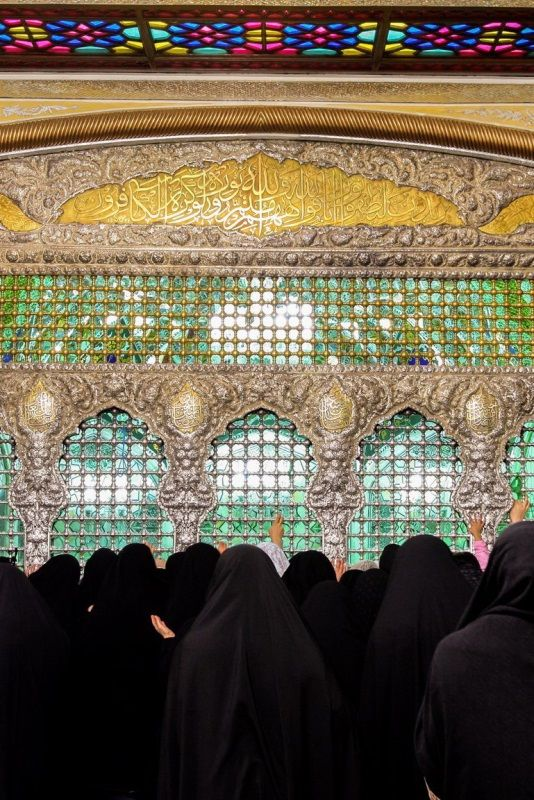 Dar-al-Ejabah Porch,Imam Reza shrine, Mashhad, Iran(Islamic Art)