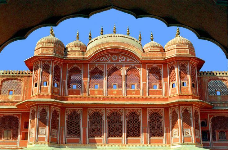 City Palace, Jaipur, India--  Filming location for Jodhaa Akbar!