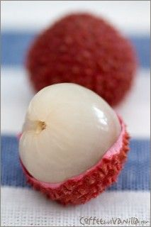 Lychee...so yummy! Probably never would have heard of or tried this fruit if i hadn't lived in Hawaii :)