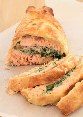 saumon wellington