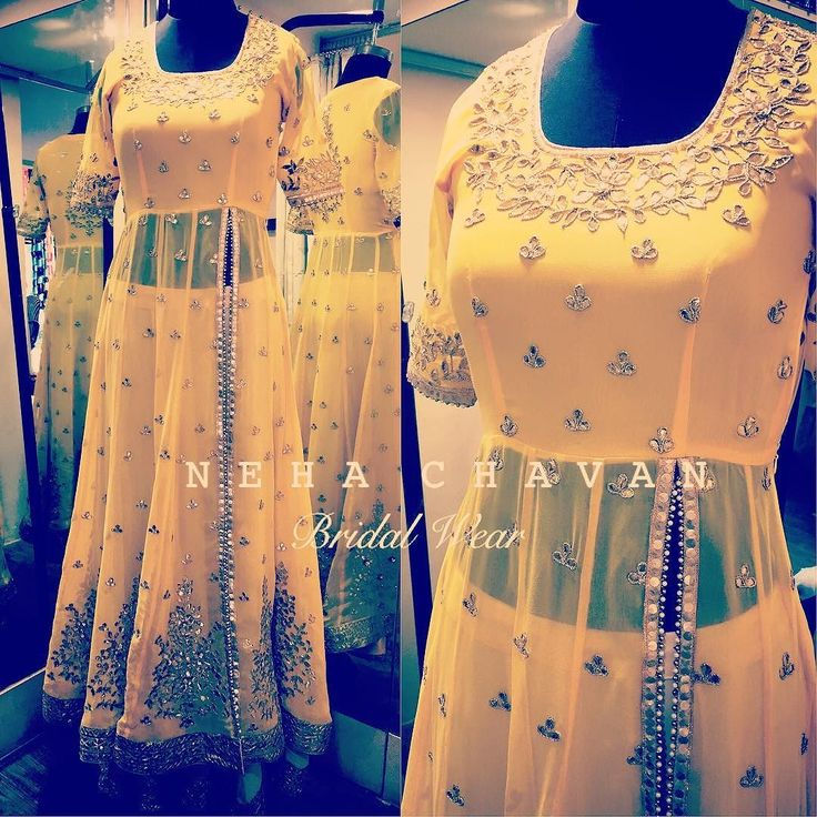 Color me yellow!  Beautiful bridal wear customised to your requirements! For details and consultation get in touch with us on fashion@nehachavan.com or drop in your email id in the comment below and we will get back to you soon. We deliver worldwide.  #NC #NehaChavan #fashion #designer #designerwear #custommade #fashionatyourdoorstep #tradionalwear #bridalwear #festivewear #bridetobe #instalove #instapic #instalike #tagsforlikes #picoftheday #yellow #lehengas #indianwear #indianbridalwear…