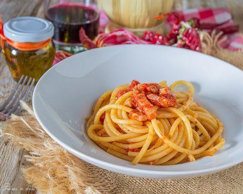 Spaghetti all'amatriciana ricetta originale