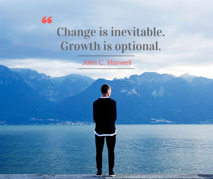 """Change is inevitable. Growth is optional."" @JohnCMaxwell  Be positive and have a great week ahead. ☺ #RUSHtoSUCCESS  #MondayMotivation"