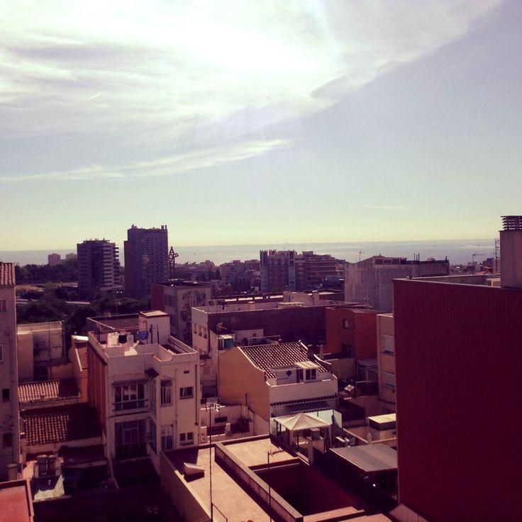 Sunny morning in Badalona