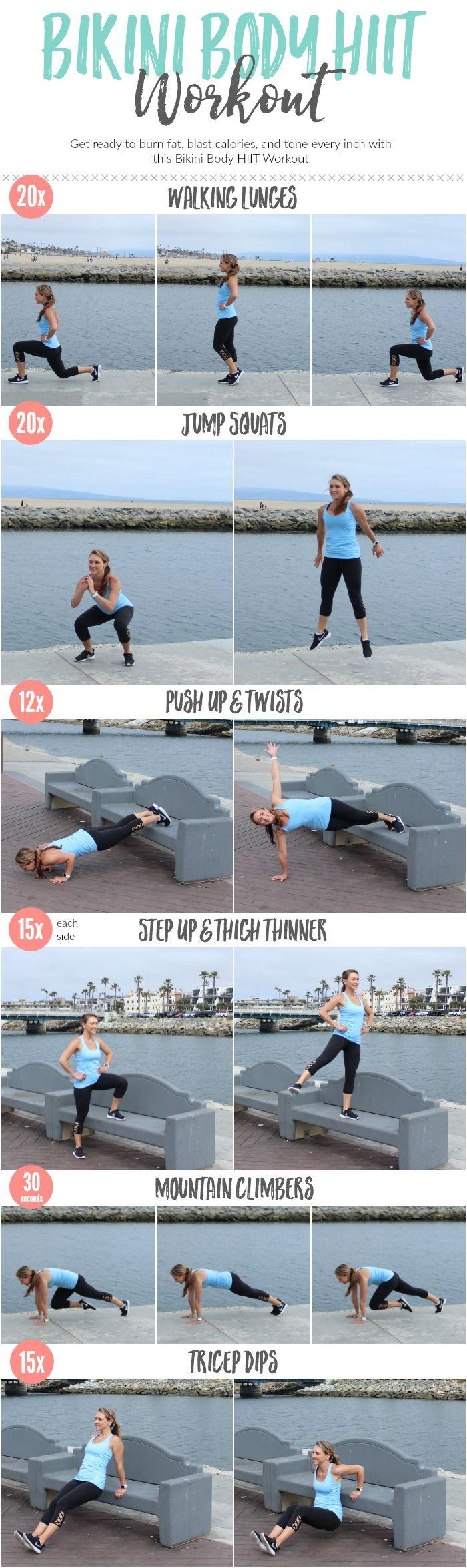 Bikini Body HIIT Workout