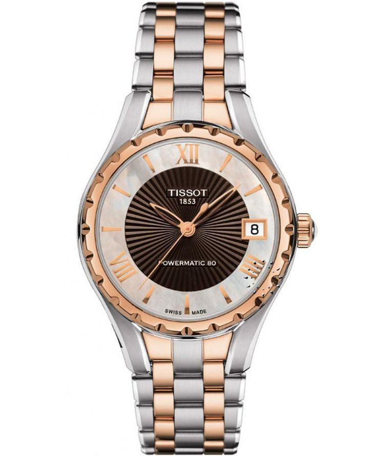 TISSOT Ladies Powermatic 80 Two Tone Stainless Steel Bracelet Η τιμή μας: 625€ http://www.oroloi.gr/product_info.php?products_id=36526