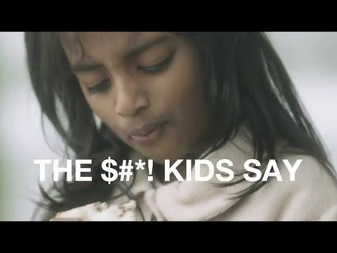 """NSPCC — """"The Shit Kids Say"""" 