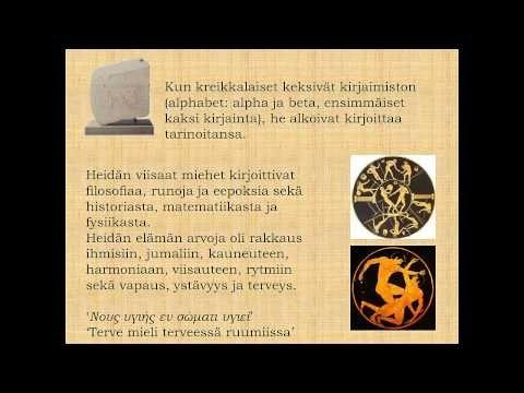 Kreikkalainen Mytologia - YouTube