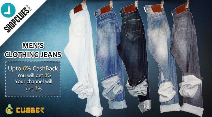 Shopclues - Jeans Collection for Men Buy men jeans online at low prices in india. Shop from ripped jeans for men, denim, high waisted, slim fit, levis jeans for men from top brands at ShopClues.com.Also You will get upto 6% cashback from cubber.   Shop and earn through website :- http://shop.cubber.in Download cubber app :- http://cubber.in/app  #cubberapp #cashbackoffers #shoppingonline #cubbershop  #ganeshchaturthi #discount #sale #couponcode #onlinestore #cubberin #extraearn #refernearn…