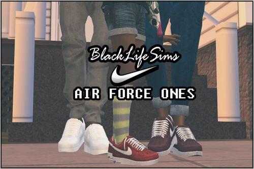 B-L-$ Nike Air Force O...