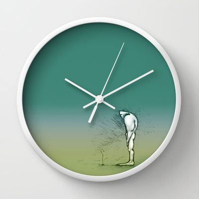 Growing up Wall Clock by Art Cobra - $30.00
