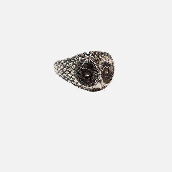 Folkloriikka - Owl Ring