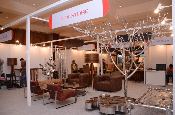 #Luxury #Furniture #HomeDecorAccessories   #Silver all under one roof!!!! Now this can truly add vibrance to your interiors. #IndiStore #HouseFull Exhibition #RamolaBachchan #SuperSuccess #HappyFaces #Shopping!