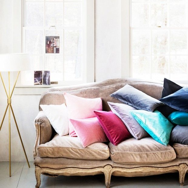 The Best Places to Buy Throw Pillows Online: You're just a few clicks away from having an amazing cushion collection. via @domainehome
