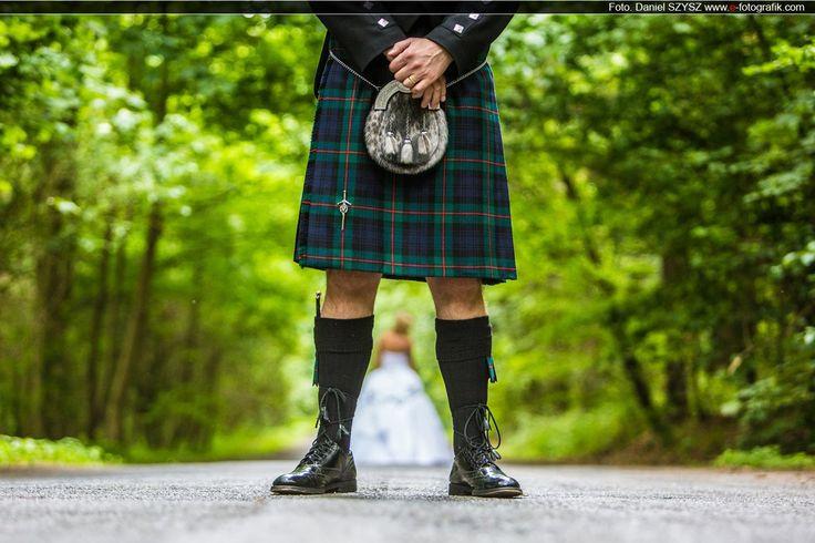 Szkocki klimat - prezentacja ślubna