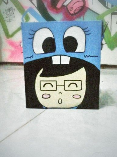 Cardboard character vio