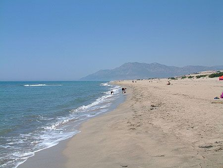 Patara Beach on the Mediterranean