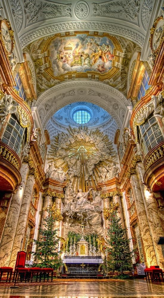 St. Charles's Church, Vienna.