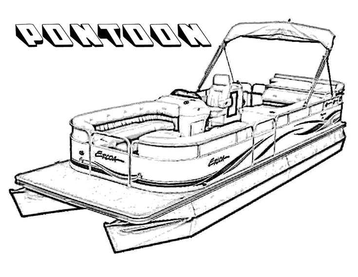 google coloring book pages boats - photo#18