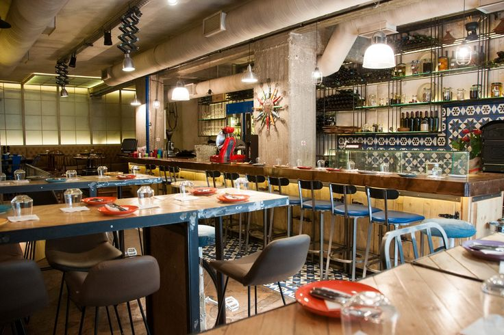 """PARA SIEMPRE"" wine & tapas bar / interior - concept - furniture design"