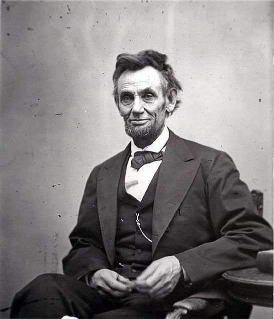 Abraham Lincoln by onlinewoman, via Flickr