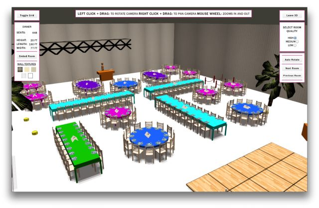 Truly visualize your event eventprofs 3d socialtables for 3d room layout software