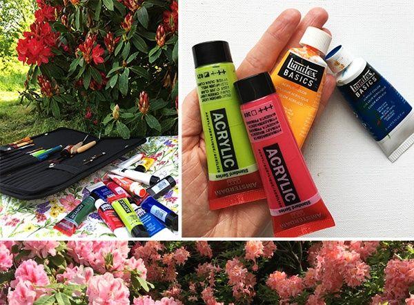 Quel Est Le Top 7 Du Materiel A Utiliser Pour Peindre En Plein Air