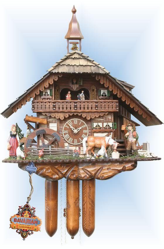Romba Farmhouse cuckoo clock 22'' - Bavarian Clockworks
