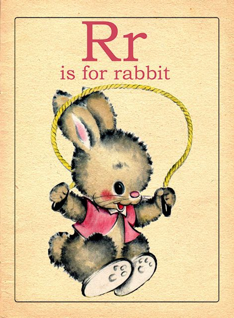 R Is For Rabbit R is for rabbit | Prin...