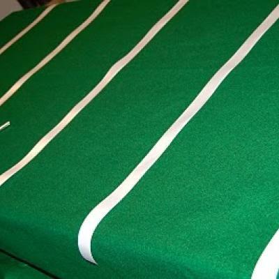 Football Field Table Cloth - cute birthday or adult party idea