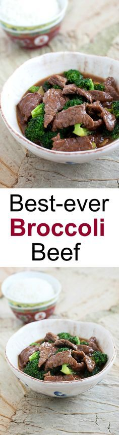 Broccoli Beef – Learn how to make healthy homemade beef and broccoli in brown sauce. Best and popular Chinese takeout recipe | rasamalaysia.com