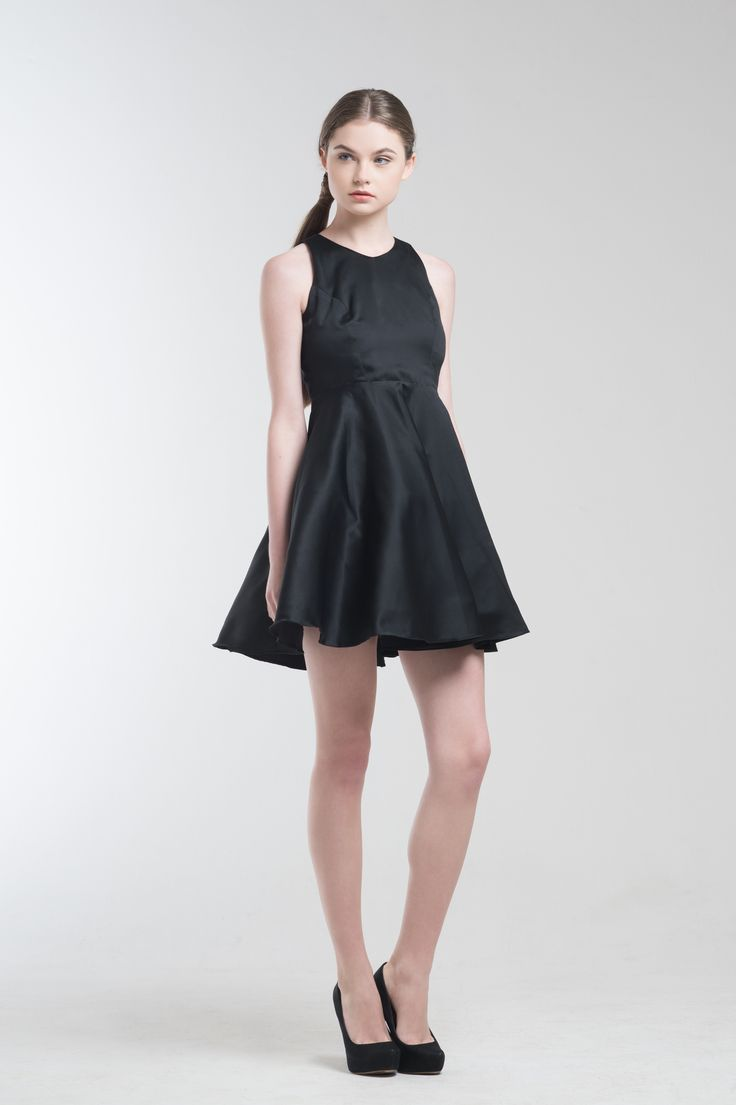 Drey Dress in Black from Jolie Clothing  #JolieClothing www.jolie-clothing.com  #Fashion #designer #jolie #Charity #foundation #World #vision #indonesia  #online #shop #stefanitan #fannytjandra #blogger