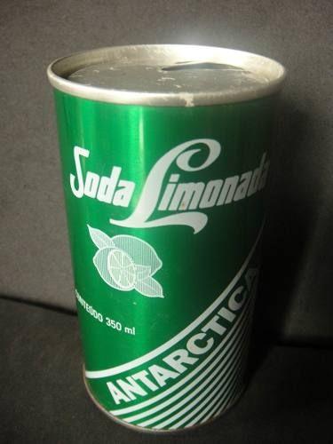...ter tomado refri nas resistentes latas de aço, não de alumínio.