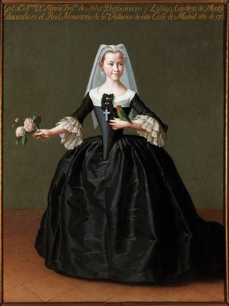 International Portrait Gallery: Retrato de la VIª Condesa de Montijo