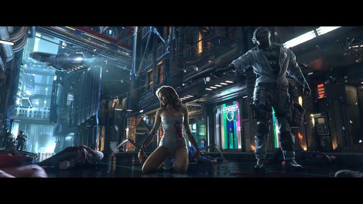 Trailer games Cyberpunk vs Deus Ex YouTube