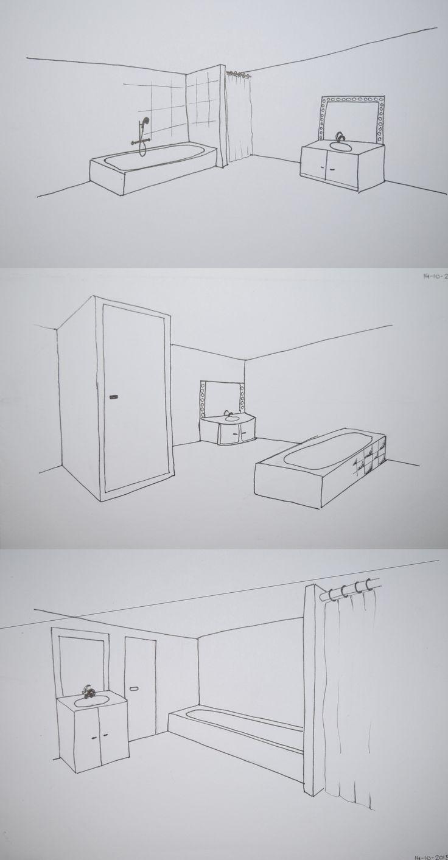 Keuken Tekenen Ikea : Meer dan 1000 idee?n over Badkamer Tekenen op Pinterest – Toiletten