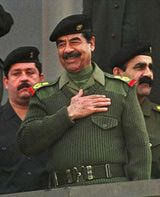 16 Jul 1979: Saddam Hussein became president of Iraq after forcing Hasan al-Bakr to resign