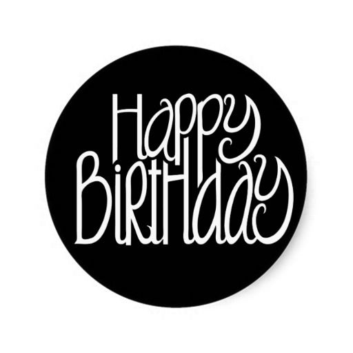 Happy Birthday Black Sticker In our offer link above you will seeDeals Happy Birthday Black Sticker please follow the link to see fully reviews...