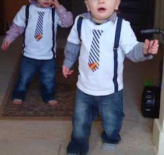 appliqued suspenders, so cute!
