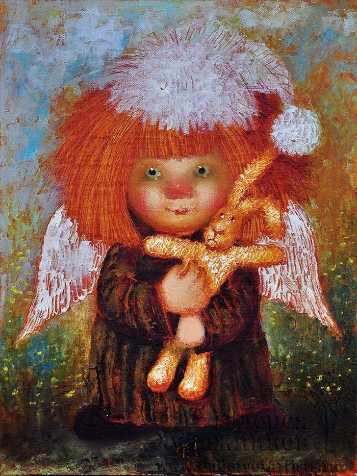 Keeper autumn sad ... Red angel ... Angels Galina Chuvelyaevoy. Discussion on LiveInternet - Russian Service Online Diaries