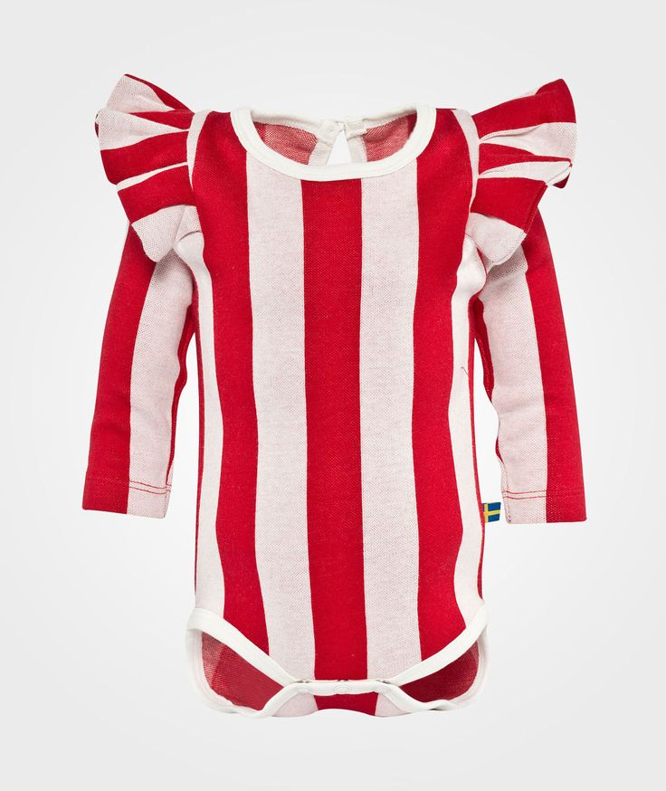 The BRAND Flounce Body Red Stripe