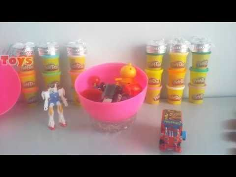 Play Doh Surprise Eggs Surprise Toys for kids with  jee  loo Reviews