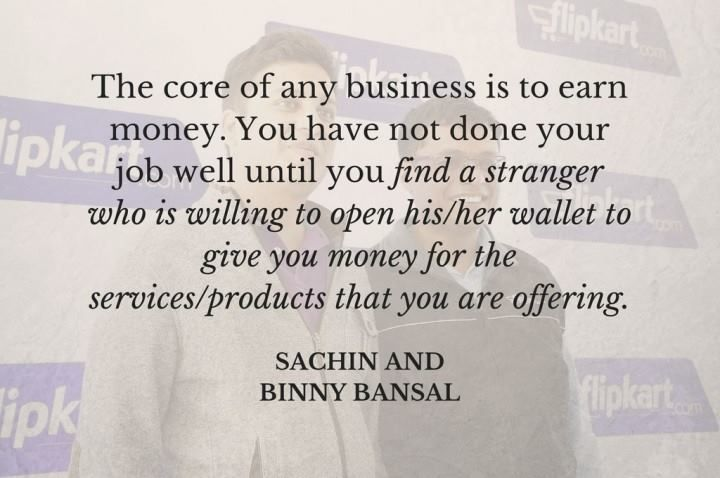 #WednesdayWisdom for the #ecommerce #entrepreneur. #money #Flipkart #advice #India #Witnesday