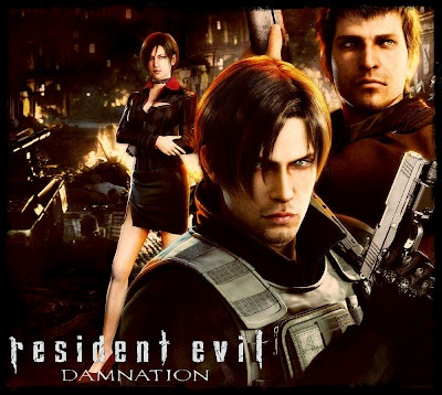 """We now have a new look at Resident Evil Damnation which is coming home September 25th. I enjoyed Resident Evil Degeneration but ultimately wanted a little more. This one seeems to be kicking it up a notch. Check it out...      US government agent Leon S. Kennedy   sneaks into the """"East Slavic Republ"""