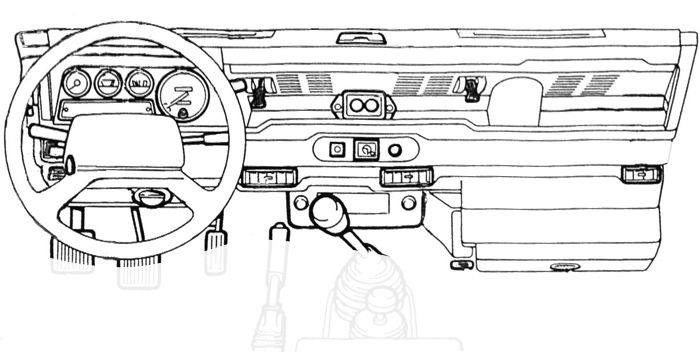Defender Dashboard, Dash, Electrical Guages, Switches