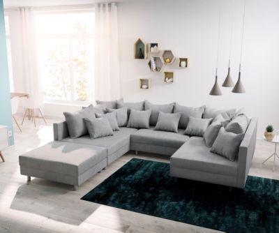 The 25+ Best Sofa Hocker Ideas On Pinterest | Sofakissen ... Wohnzimmer Sofa Grau